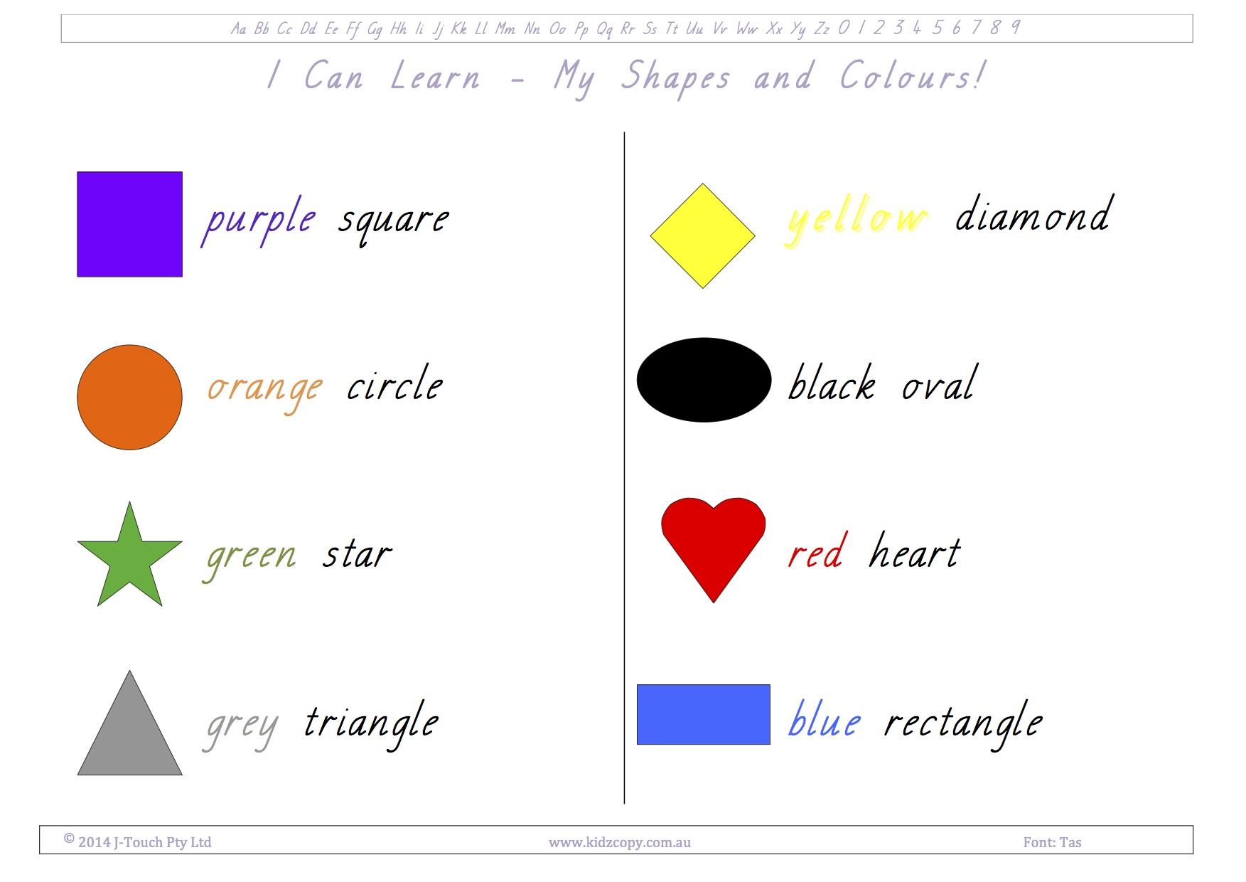 I Can Learn - My Shapes and Colors
